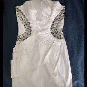 Dresses & Skirts - White prom dress, size 6